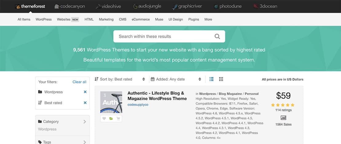 Authentic – Premium WordPress Theme for Lifestyle Blogs and Magazines